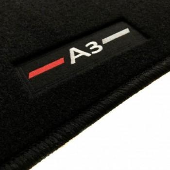 Tapetes Audi A3 8P Hatchback (2003 - 2012) à medida logo