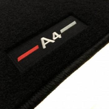 Tapetes Audi A4 B8 limousine (2008 - 2015) à medida logo