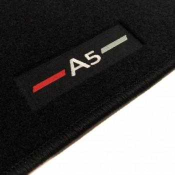 Tapetes Audi A5 F57 cabriolet (2017 - atualidade) à medida logo