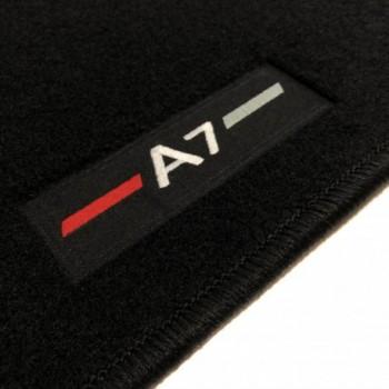 Tapetes Audi A7 à medida logo (2010-2017)