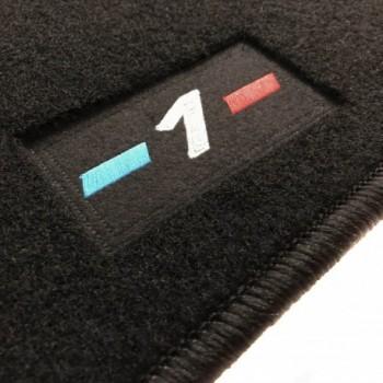 Tapetes BMW Série 1 E81 3 portas (2007 - 2012) à medida logo