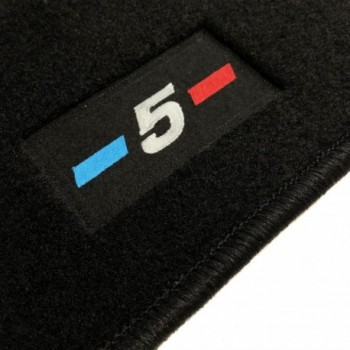 Tapetes BMW Série 5 F10 Restyling berlina (2013 - 2017) à medida logo