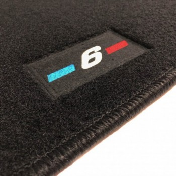 Tapetes BMW Série 6 E63 Coupé (2003 - 2011) à medida logo