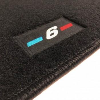 Tapetes BMW Série 6 E64 cabriolet (2003 - 2011) à medida logo