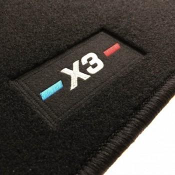 Tapetes BMW X3 G01 (2017 - atualidade) à medida logo
