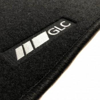 Tapetes Mercedes GLC C253 Coupé (2016 - atualidade) à medida logo