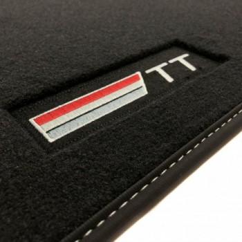 Tapetes Audi TT 8J (2006 - 2014) veludo logo