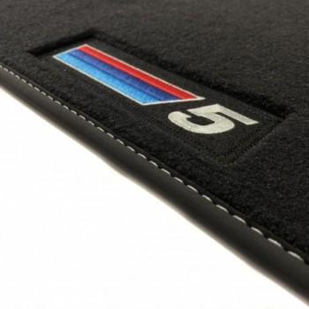 Tapetes BMW Série 5 G30 berlina (2017 - atualidade) veludo M Competition
