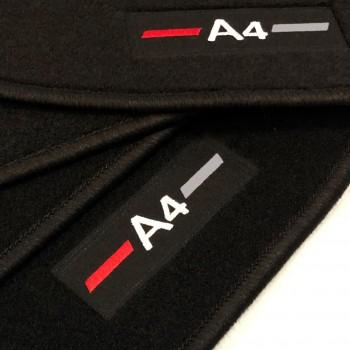 Tapetes Audi A4 B8 Allroad Quattro (2009 - 2016) à medida logo