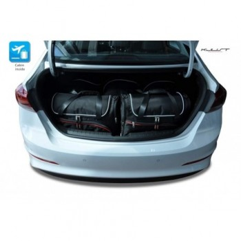 Kit de mala sob medida para Hyundai Elantra 6 (2016-atualidade)
