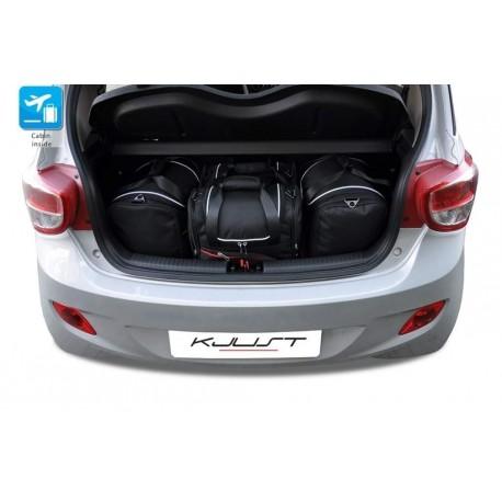 Kit de mala sob medida para Hyundai i10 (2013 - atualidade)