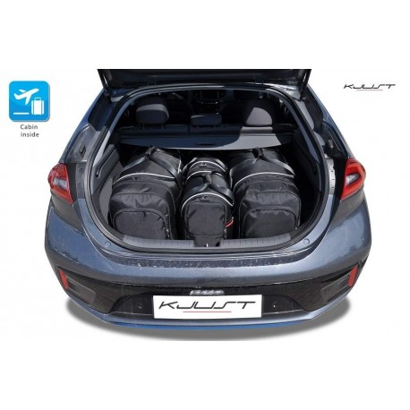 Kit de mala sob medida para Hyundai Ioniq Eléctrico (2016 - atualidade)