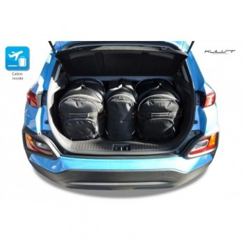 Kit de mala sob medida para Hyundai Kona SUV (2017 - atualidade)