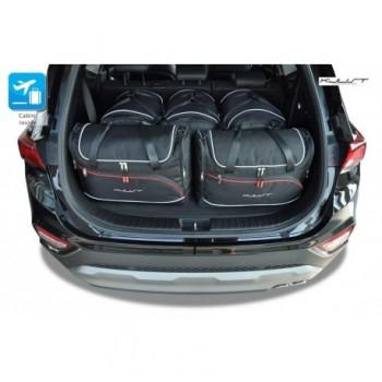 Kit de mala sob medida para Hyundai Santa Fé 7 bancos (2018 - atualidade)