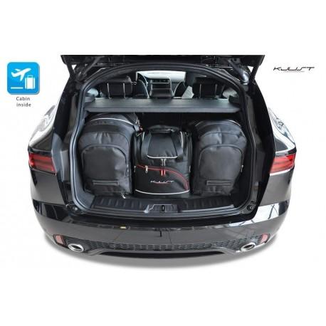 Kit de mala sob medida para Jaguar E-Pace