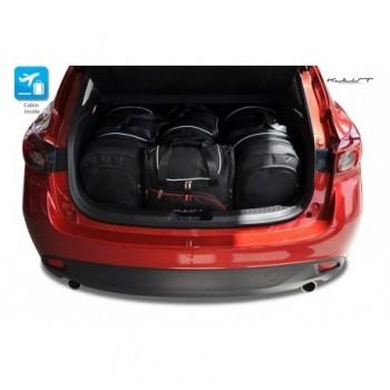 Kit de mala sob medida para Mazda 3 (2013 - 2017)