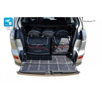 Kit de mala sob medida para Mitsubishi Outlander 5 bancos (2007 - 2012)