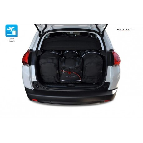 Kit de mala sob medida para Peugeot 2008 (2013 - 2016)