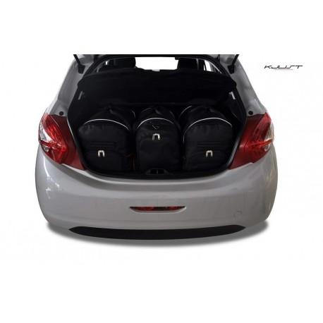 Kit de mala sob medida para Peugeot 208