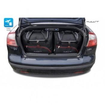 Kit de mala sob medida para Saab 9-3 cabriolet (2007 - 2011)