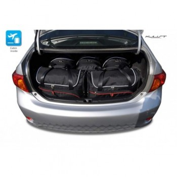 Kit de mala sob medida para Toyota Corolla (2007 - 2012)