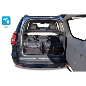 Kit de mala sob medida para Toyota Land Cruiser 150 longo Restyling (2017 - atualidade)