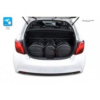 Kit de mala sob medida para Toyota Yaris 3 ou 5 portas (2011 - 2017)