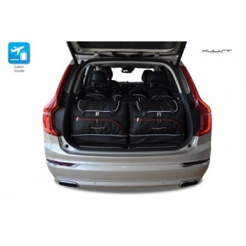 Kit de maletas a medida para Volvo XC90 5 plazas (2015 - actualidad)