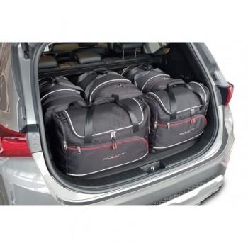 Kit de mala sob medida para Hyundai Santa Fé, 5 bancos (2018 - atualidade)