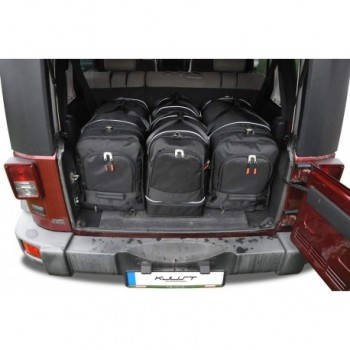 Kit de mala sob medida para Jeep Wrangler 5 portas (2007 - 2017)