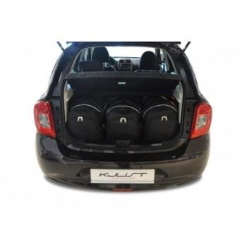 Kit de mala sob medida para Nissan Micra (2013 - 2017)