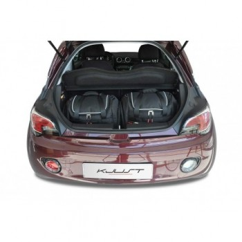 Kit de mala sob medida para Opel Adam