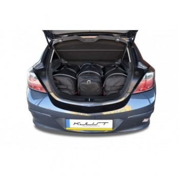 Kit de mala sob medida para Opel Astra H, 3 portas (2004 - 2010)