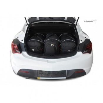 Kit de mala sob medida para Opel Astra J, 3 portas (2009 - 2015)
