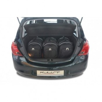 Kit de mala sob medida para Opel Corsa E (2014 - 2019)