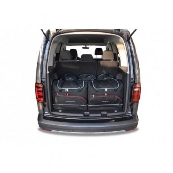 Kit de mala sob medida para Volkswagen Caddy 4K, 5 bancos (2016-atualidade)