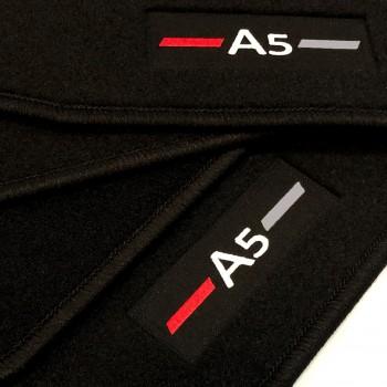 Tapetes Audi A5 8T3 Coupé (2007 - 2016) à medida logo
