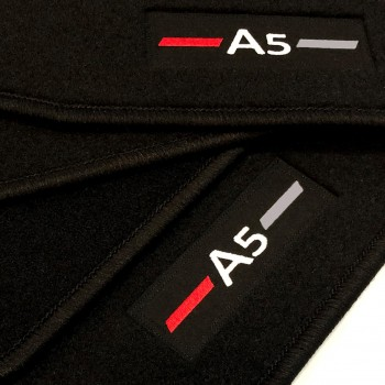 Tapetes Audi A5 F53 Coupé (2016 - atualidade) à medida logo