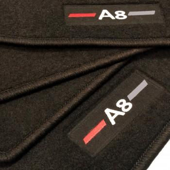 Tapetes Audi A8 D3/4E (2003-2010) à medida logo
