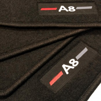 Tapetes Audi A8 D4/4H (2010-2017) à medida logo
