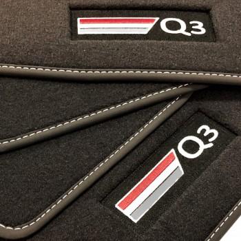 Tapetes Audi Q3 veludo logo (2011-2018)