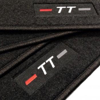Tapetes Audi TT 8S (2014 - atualidade) à medida logo