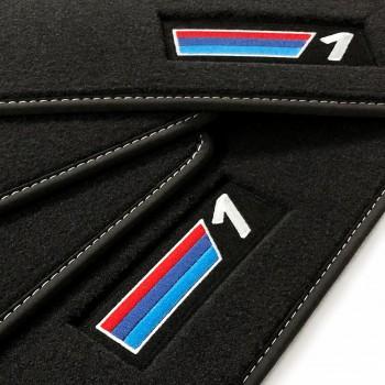 Tapetes BMW Série 1 E81 3 portas (2007 - 2012) veludo M Competition