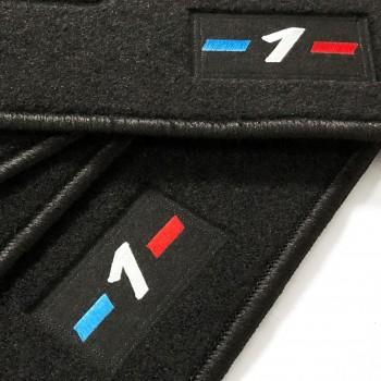 Tapetes BMW Série 1 F21 3 portas (2012 - 2018) à medida logo