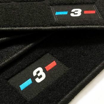 Tapetes BMW Série 3 E36 berlina (1990 - 1998) à medida logo