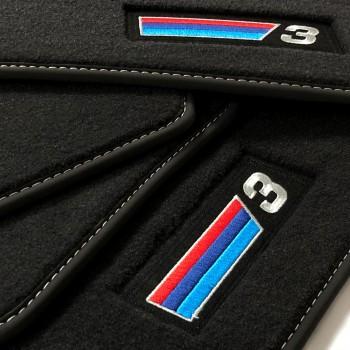 Tapetes BMW Série 3 E36 cabriolet (1993 - 1999) veludo M Competition