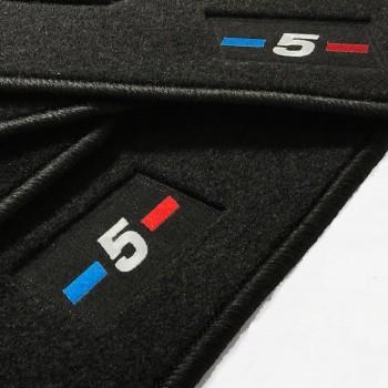 Tapetes BMW Série 5 G30 berlina (2017 - atualidade) à medida logo