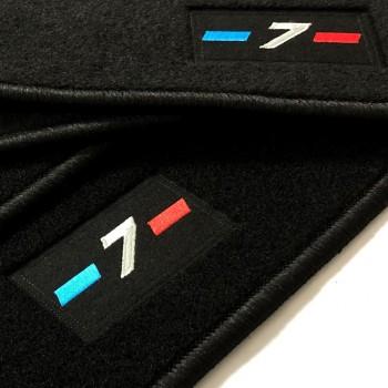 Tapetes BMW Série 7 E65 curto (2002-2008) à medida logo