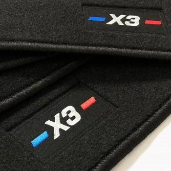 Tapetes BMW X3 F25 (2010 - 2017) à medida logo