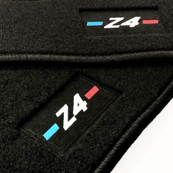 Tapetes BMW Z4 E85 (2002 - 2009) à medida logo